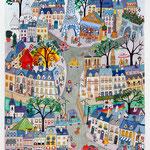 Paris Hausmanien( vendu)  Dispo en giclée : 180