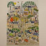 Paris Hausmanien ( Giclée: 145 )