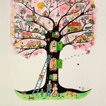 L'arbre de vie. (sold out)