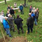 Die Teilnehmer treffen ein, auch aus dem Odenwald und Nordhessen.