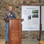 Vereinsvorsitzender Robert Scheibel begrüßt die Gäste