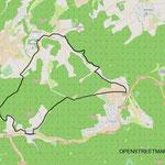 Die Strecke ist 13 Km lang und kann in 3 bis 4 Stunden bewältigt werden