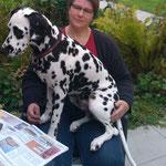 Elexa vom Furlbach ein Schoßhund...14.08.2017