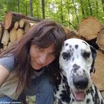 Blade vom Furlbach mit seinem Frauchen...16.05.2017