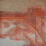 Observer Series (III), 2016, Öl auf Leinwand, 105 X 105 cm
