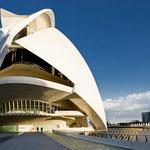 Stad van kunst en wetenschappen, Valencia, Spanje