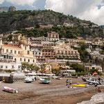 Positano, Amalfikust, Italië
