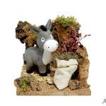 Corral con burro, para Naif (Ref. 2760)