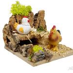 Corral de gallina y gallo, para Naif (Ref. 2755)