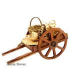 Carro con cestas de mimbre (Ref. 3647.1)