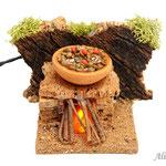 Cocina rústica con lentejas (Ref. 3693)