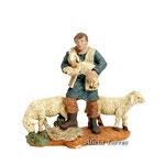 Pastor con tres ovejas de 8 cm (Ref. 2420.1)