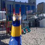 Spass (nicht nur) für Kinder am Strand von Blankenberge