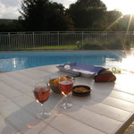 Enjoy a glass or two after your swim!