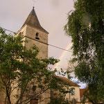 The village church, opposite the gite