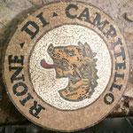 I rioni di Roma, medaglioni a mosaico di marmi - Progetto di Elisabetta Accoto