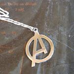 Pendentif enfant Avengers en argent 925