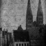 Die Mengstraße - Ort der Handlung der Buddenbrooks und Thomas Manns Jugend in Lübeck
