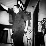 Patrick - Sänger und Frontmann der Covermaniacs, unser Freund und Gönner an diesem Abend. THX für die P.A.