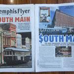 South Main, ein Viertel wehrt sich gegen den Untergang, der längst schon stattgefunden hat - Memphis, Tn.