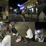 Die Auferstehung - Jimi Hendrix lebt, ich hörte ihn am Rande der Beal Street in Memphis, Tn.