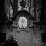 Weimar - Grab der Charlotte Stein, eine Zentralfigur in Goethes Leben, die Thomas Mann sehr inspirierte