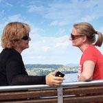 Mit langjähriger Freundin am Zürichsee