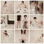 Neun Bilder einer Braut