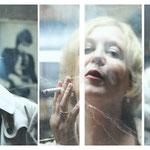 Collage mit Gabriele Roßler-Hogen