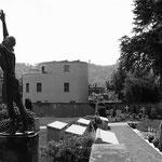 Zürich - Friedhof in Kilchberg, letzte Ruhestätte der Familie Mann