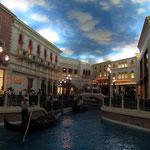 Venedig als Hotel-Nachbau in Las Vegas, Nv.
