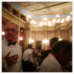 Bayreuth - Festspielhaus, schneller Handyknips ;-)