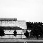 Nürnberg - Zeppelinfeld. Ort des Unheils, oft beschrieben.