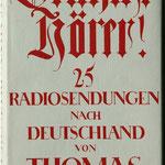 Deutsche Hörer! - Radiosendungen aus dem Exil