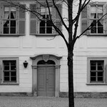 """Weimer - das Wohnhaus Friedrich Schillers. Erinnerungen an die Erzählung """"Schwere Stunde"""""""