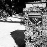 1550, San Remo Drive, Pacific Palisades, California - heute unzugänglich und im Privatbesitz
