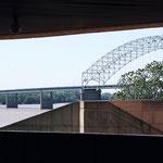 Hernando de Soto Bridge, ein spezielles New Topo - Memphis, Tn.