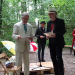 """20.06.20  Irrhain, Erster Preis Literaturwettbewerb """"Goldener Blumentopf"""" des Pegnesischen Blumenordens Foto M. Kunzmann"""