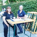04.09.21 Hesperidengarten     Wer so freundlich empfangen wird, lässt sich gerne registrieren