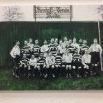 Die grüne Bude, Werder Bremen 1903, 50x70, verkauft