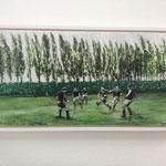 bewegtes Bild, Werder Bremen 1947, 50x100  über die Aidshilfe Bremen zu bekommen