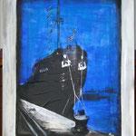 Neptundampfer Delia, 80x100 verkauft