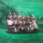 Sags mit Blumen, Werder Bremen 1946, 24x30