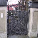 T 012 Gartentürl in Anthrazit Grau - Entwurf Architekturbüro Siedenburg