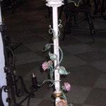 Mehrflammige Stechleuchter mit Rosen SL/ Rosen 002