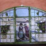 Fenstergitter in Grün Gold - FG 006