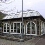"""Pavillion """"Zum Bären""""  Holz - Metall kombiniert  - PV 002"""