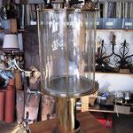 Messingzapfanlage - Schauglas für Bier mit einem Zapfhahn -  MS 006