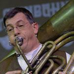 Gerd Rauschendorfer spielte schneidig auf.