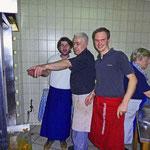 Hendlgrilllehrgang bei Franz Pflieger, Matthäser in Ruhstorf